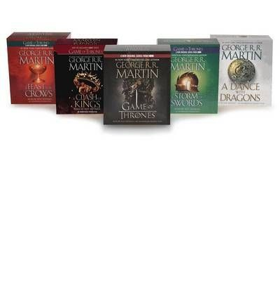 [ Song of Ice and Fire Audiobook Bundle: A Game of Thrones (HBO Tie-In) a Clash of Kings (HBO Tie-I @ niftywarehouse.com #NiftyWarehouse #GameOfThrones #Fantasy #TVShows #HBO #Show