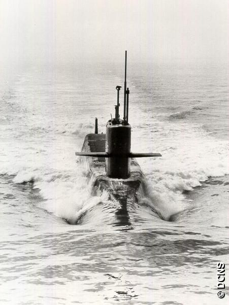 French Marine Nationale SSBN Le Formidable.