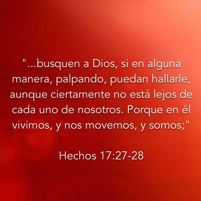 Hechos 17: 27-28