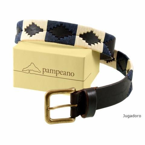 Pampeano Jugadoro polo belt, classic colours. Also available in skinny style.