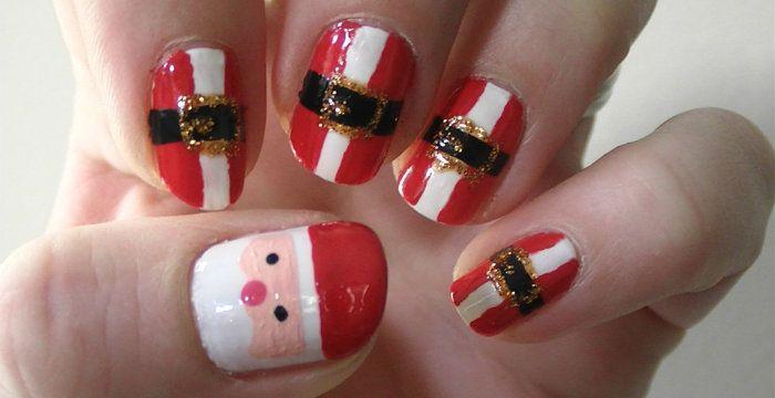 robeson design christmas 2014 | Festive Christmas Nail Designs 2014: Step-by-Step Tutorial