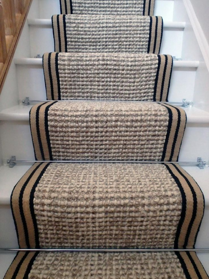 stair runner carpet wool hemp 7.5mx55cm - Wholesale Carpets
