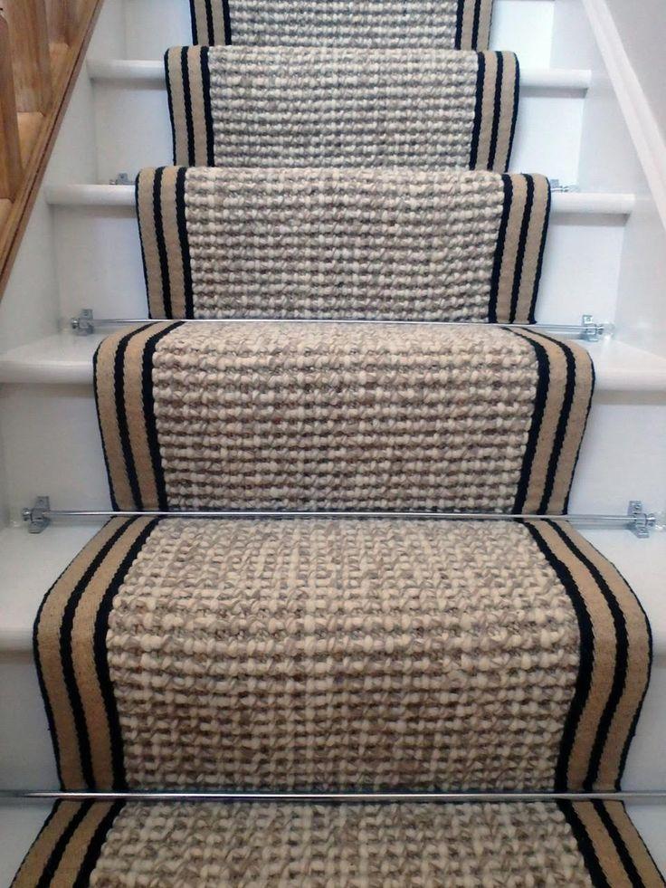 stair runner carpet wool hemp 7.5mx55cm - Wholesale Carpets