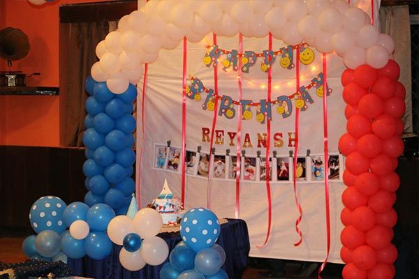 1000 Balloon Decoration At Home Ideas And Videos 1st Birthday