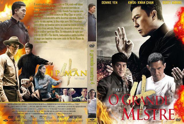 Capa Dvd Filme O Grande Mestre 4 2020 Em 2020 Capas Dvd Dvd Filmes