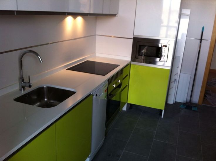 Terminaci n de otra cocina en la urbanizaci n del nuevo tres cantos combinaci n de muebles de - Muebles aragon madrid ...