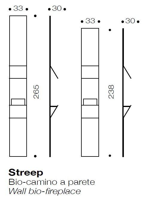 El diseño de la chimenea de etanol Streep http://www.elemento3.com/
