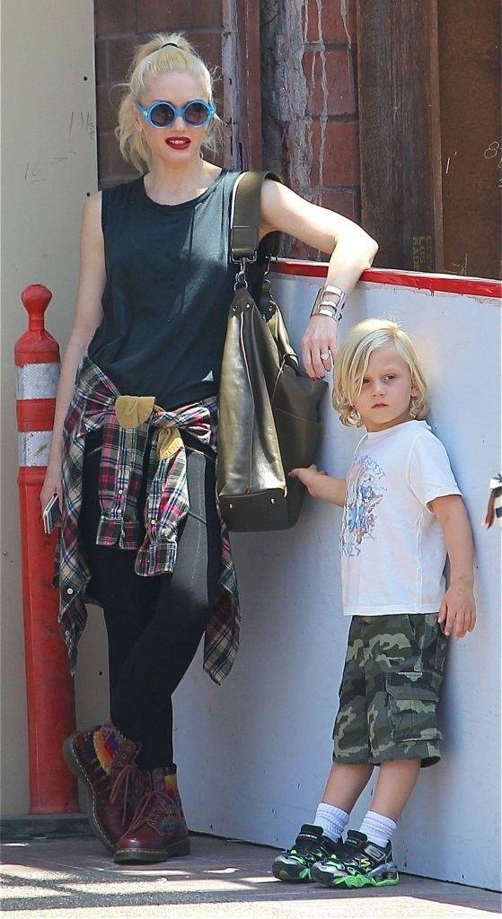 Gwen Stefani style - Gwen Stefani & Zuma