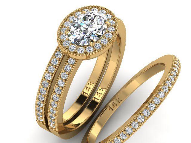 Trending Engagement Diamond Rings Wedding Rings Set Natural Diamond Rings High Quality Diamond Rings Set Of Ring Engagement Ring And Bands