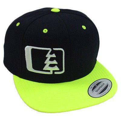 790a282fc7c Snap Hat Black Neon