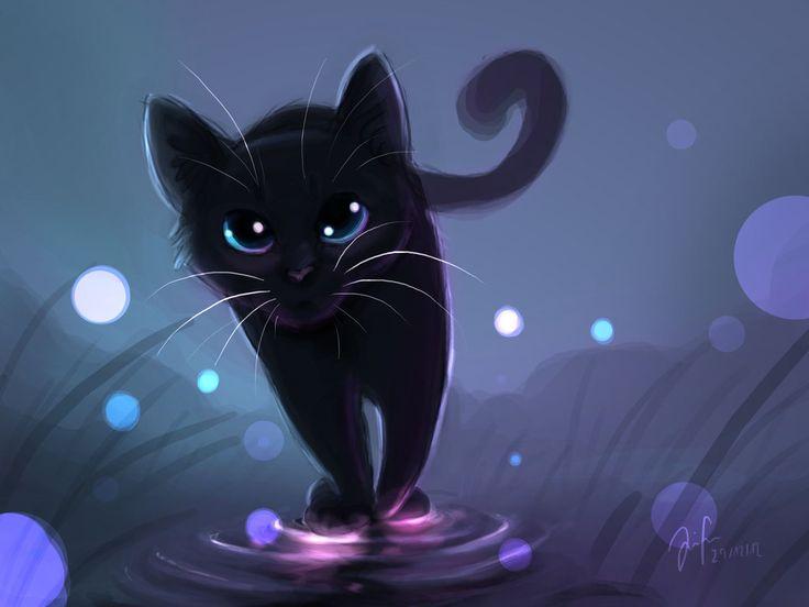 Imagen De Dibujo 3d De Gato Para Fondo De Pantalla: Above The Water By Mizu-no-Akira.deviantart.com On