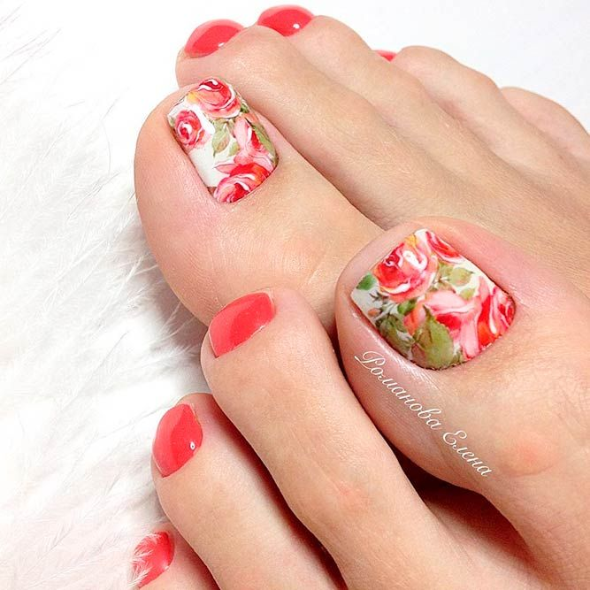 191 best toe nail designs images on pinterest eye ideas and make up 24 beautiful nail designs for toes prinsesfo Choice Image