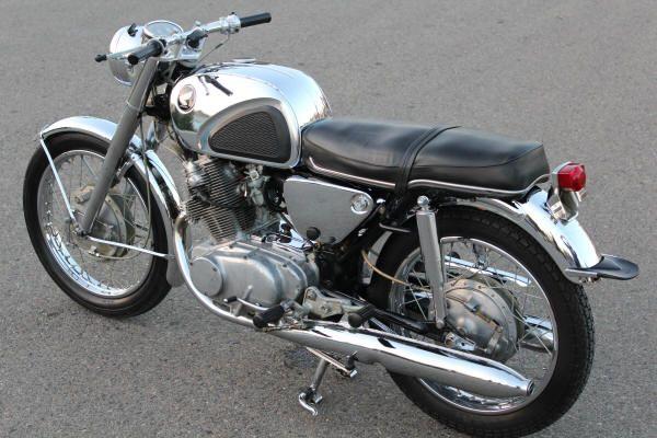 Honda CB77 Chrome Special