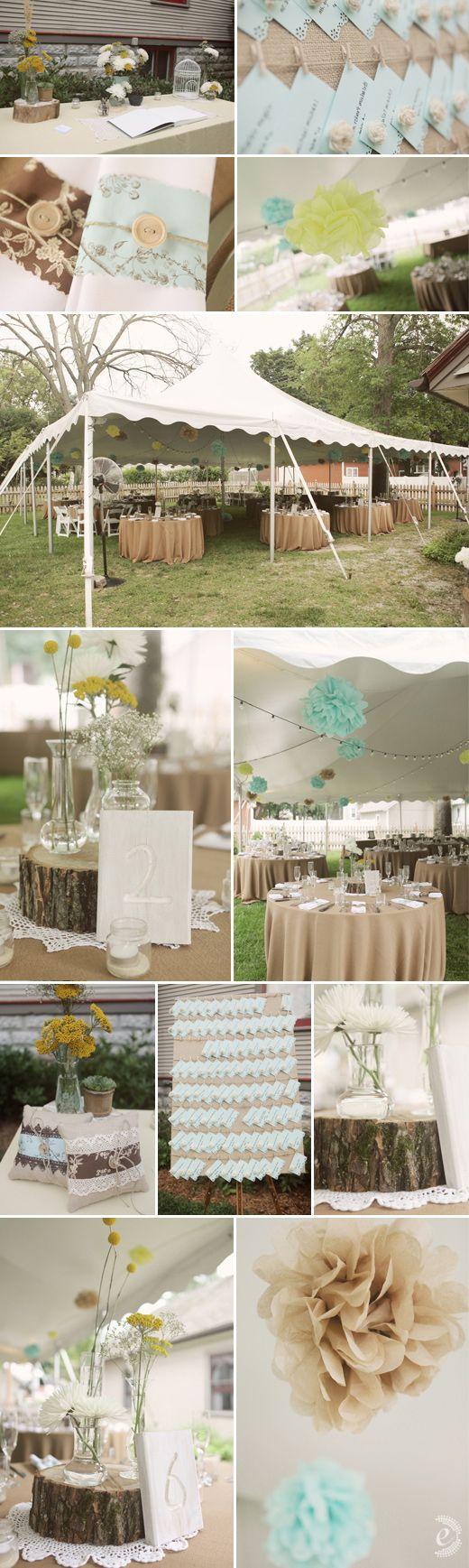 Denise & Dave's Real Backyard Wedding | Edyta Szyszlo Photography