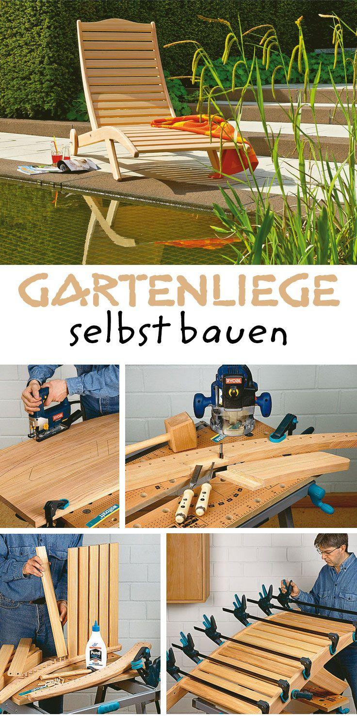 Sonnenliege Holz Selber Bauen sdatec.com