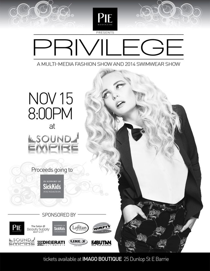 Lofttan is delighted to participate in Pie Privilege Fashion Show supporting SickKids Foundation #PiePrivilege