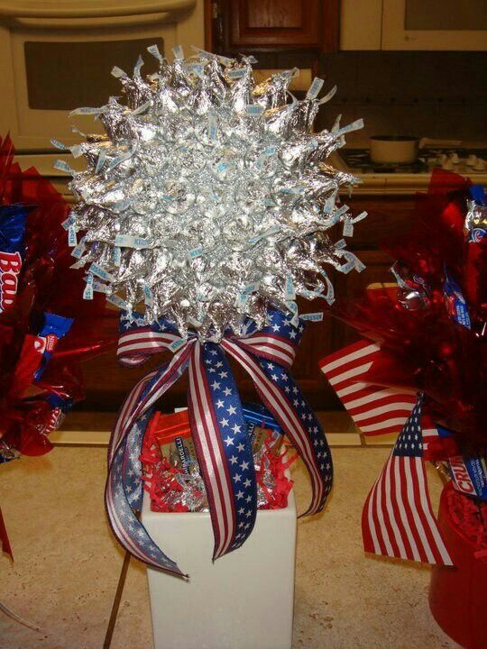 Hershey Kiss Candy Bouquet Craft Ideas Pinterest