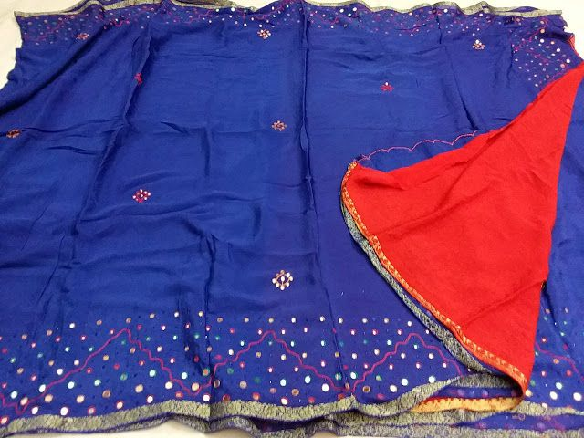 Exclusive Pure Georgette Sarees with mirror work | Buy Online Georgette sarees | Elegant Fashion Wear