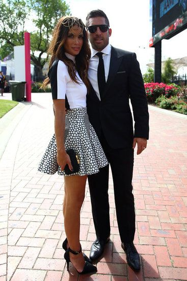 It's Derby Day! Celebs Bust Out The Black & White For A Day At The Races