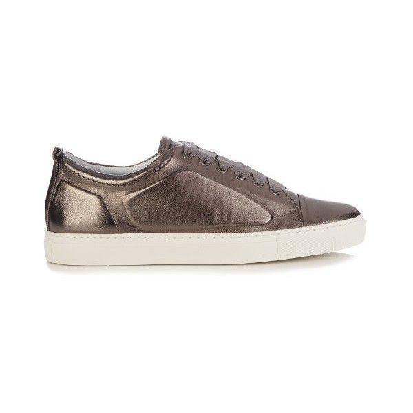 Lanvin Chaussures De Sport De Canaux Texturé - Noir ITpvfsHr
