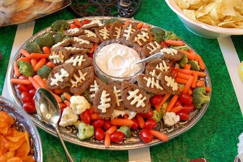 Football Themed Recipes for Super Bowl 2013: 9 Great Ideas!