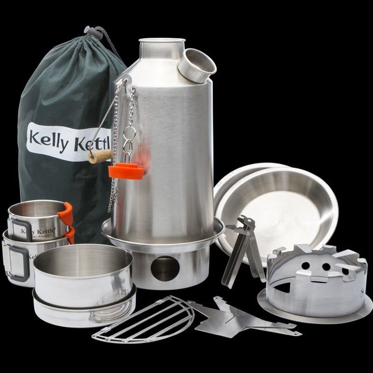 Kelly Kettle Ultimate Base Camp Kit - STEEL