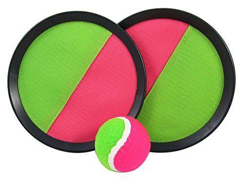 Juego palas con velcro y pelota de tenis ideal para la piscina playa camping #pelotas #tenis Para ver mas visita este enlace https://cadaviernes.com/ofertas-de-pelotas-de-tenis/