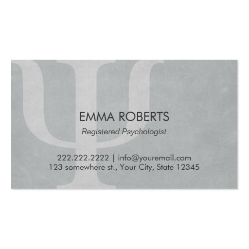 The 190 best medical professionals business cards images on professional gray psychologist appointment business card reheart Image collections