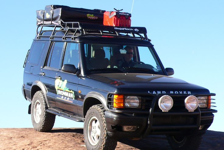 Land Rover Discovery 2 Baja Rack For Roof Tent Conversiones