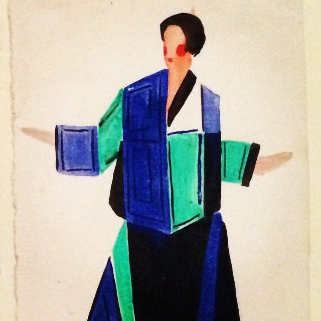Sonia Delaunay-Terk - Exhibition at the Tate Modern