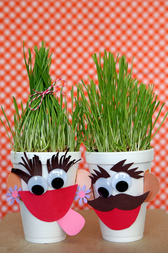 Hairy Harry's. Fun project for the kids during the summer - kids crafts