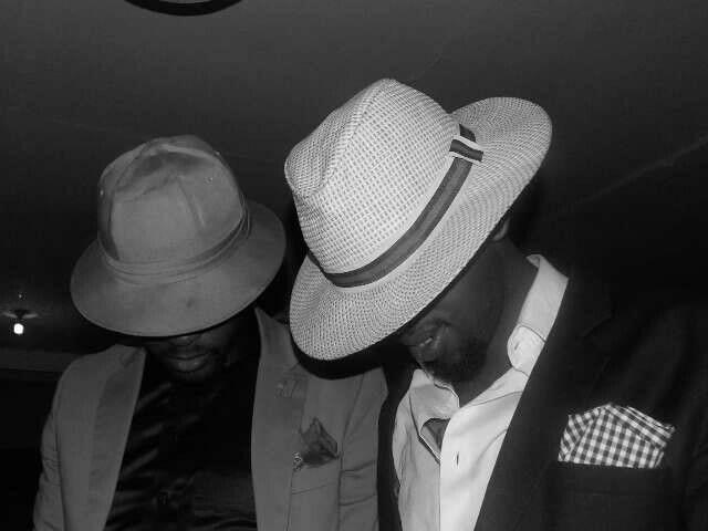 #Gentlemen #HarrisFinestFashion #Art #ThabzGada #FollowtheRabbiHat #STREETSTYLE