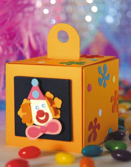 Caixa de palhaço / DIY, Craft, Upcycle