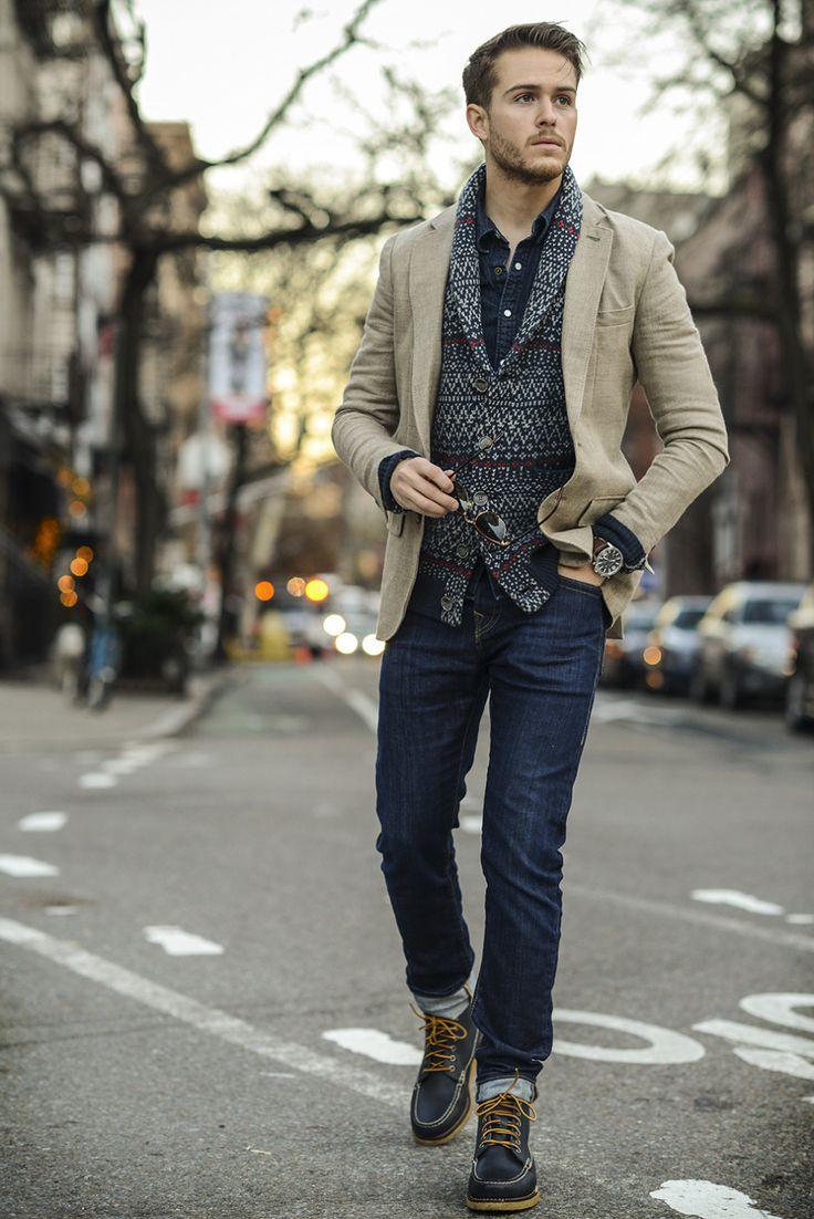 Men Jumper Fashion Ideas