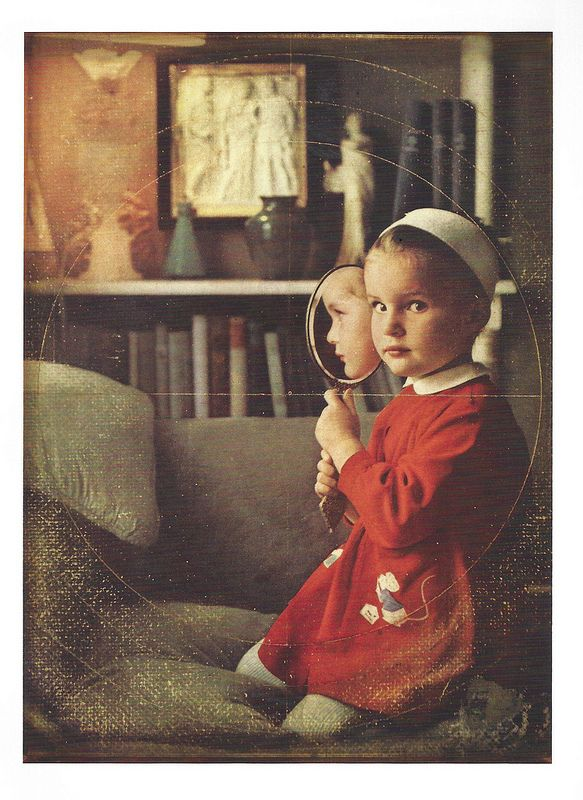 Joseph Cornell, Untitled (Your Mirror-Double), c. 1969 | Flickr - Photo Sharing!