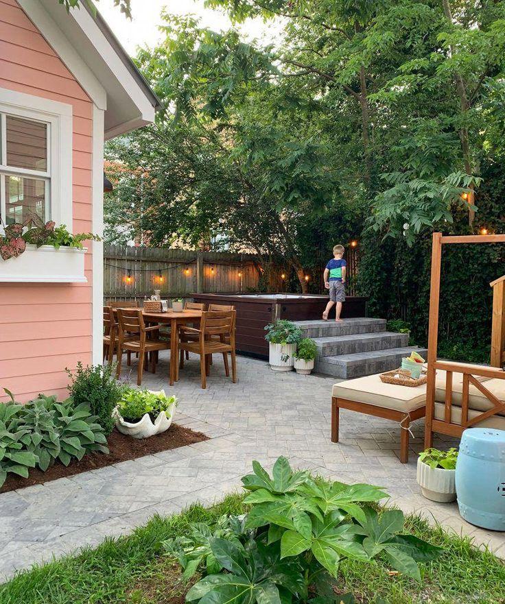 #backyardpatio | Backyard makeover, Beach house decor ...