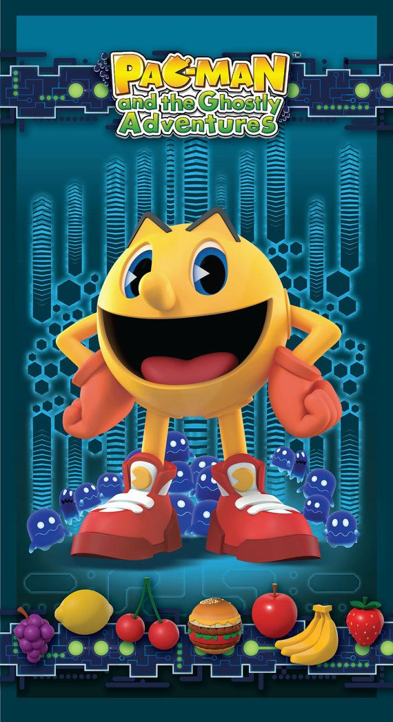 Spectrix Licensed PAC-MAN and the Ghostly by SewPerfectlyVintage