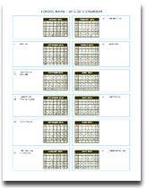 Free Calendars  Academic Moon Pdf Printable Photo Blank Etc