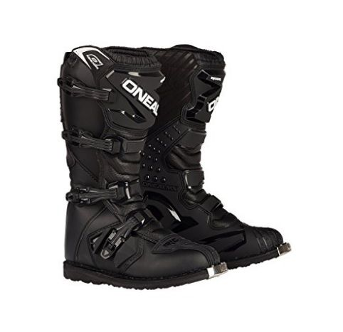 The O'Neal Rider Boots featured by Bike Gear Up reviews are one of the best motorcycle boots suited for racing, trails, track and motocross because of its moderate grip sole and other special features. #motorcycleboots
