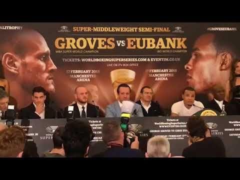 GEORGE GROVES VS. CHRIS EUBANKS JR. WBSS SEMI-FINAL PRESS CONFERENCE