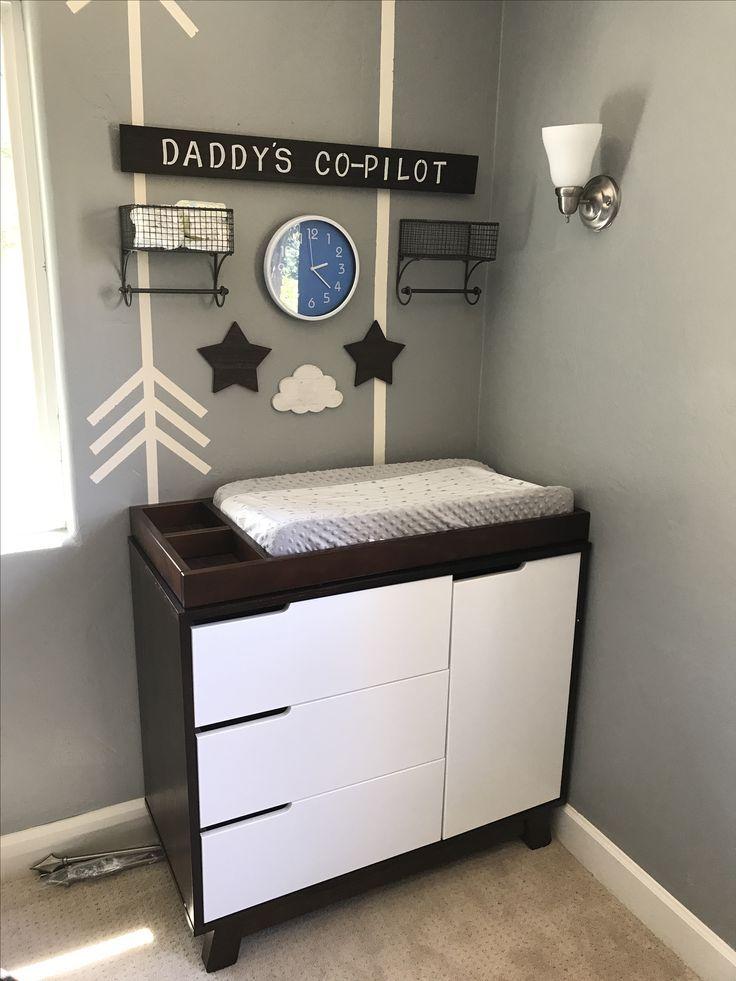Aviation Nursery Baby Boy Room Nursery Airplane Baby Room