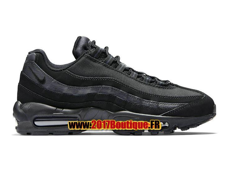 Nike Wmns Air Max 95 Chaussures Nike Basketball Pas Cher Pour Femme Noir 609048-092G