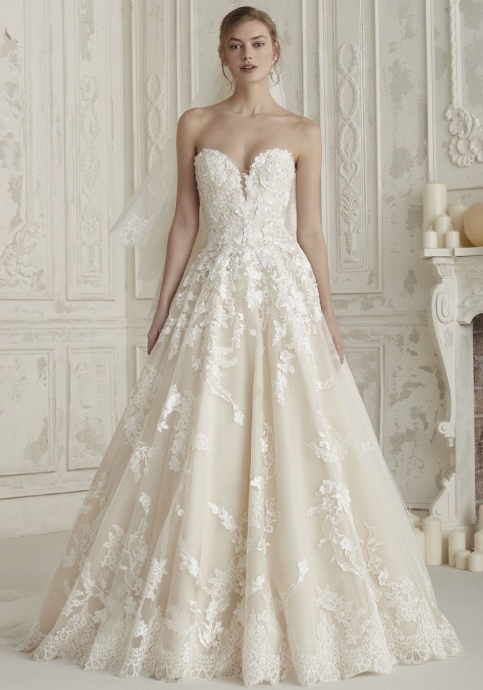Pin On Pronovias 2019 Bridal Collection