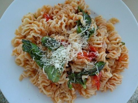 pasta with fresh tomato sauce | cookery | Pinterest