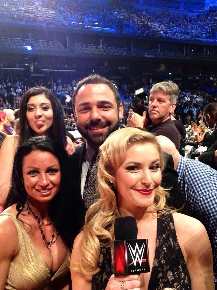 Santino with his family and Renee