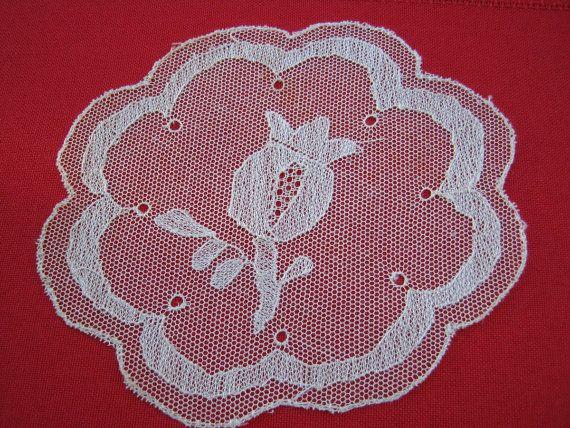 Vintage Princess Net Lace Cocktail Mats Set of by BeautifulPurpose