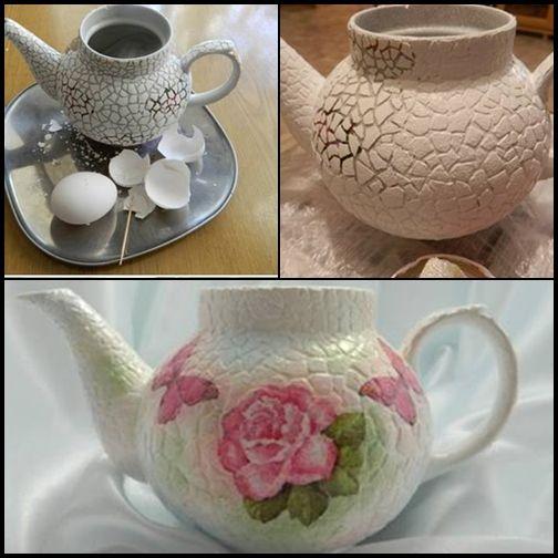 Yumurta Kabukları İle Mozaik Süsleme www.sosyetikcadde.com