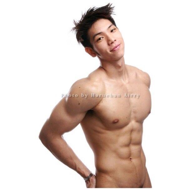 Asian boy nude chocolate