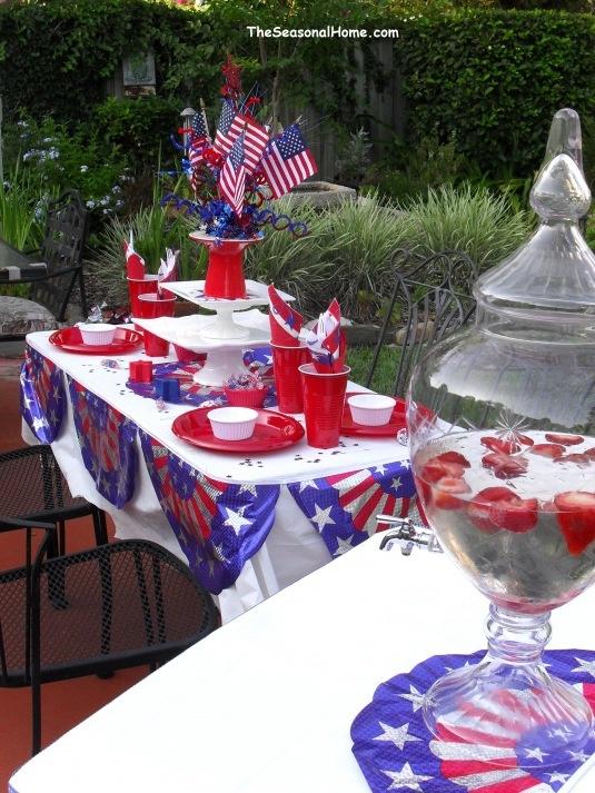 115 Best Patriotic Tablescapes Images On Pinterest