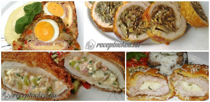 A legjobb töltött húsok, amiket imádni fogsz - Receptneked.hu - Kipróbált receptek képekkel